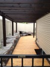 Custom Fir Pergola and Cedar Deck